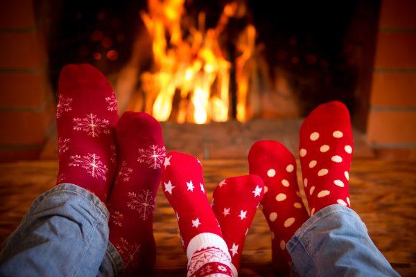 Cozy Winter Smelly Socks