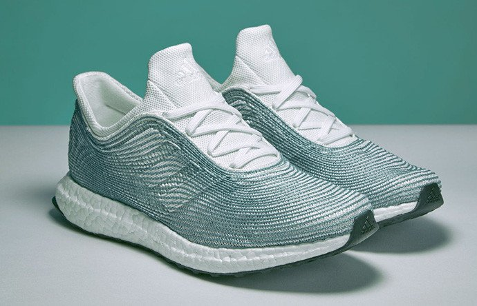 purchase cheap 39f5f d985f A Sneaker by Adidas, in partnership with Parley, made from recycled Ocean  waste